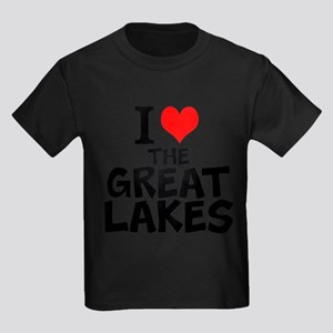 I Love The Great Lakes T-Shirt