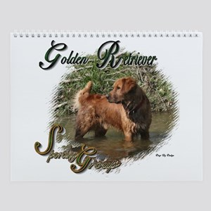 Golden Retriever Wall Calendar