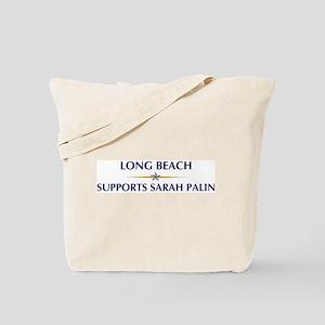 LONG BEACH supports Sarah Pal Tote Bag