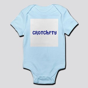 Crotchety Infant Creeper