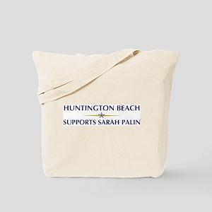 HUNTINGTON BEACH supports Sar Tote Bag