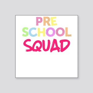 Preschool Design Squad Preschool Pink Ligh Sticker