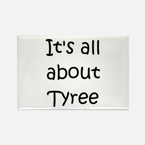 Funny Tyree Rectangle Magnet