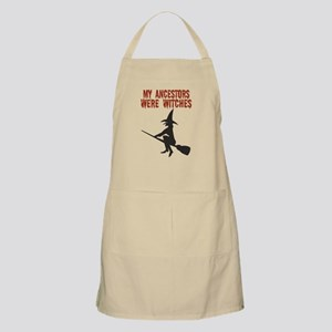 Ancestor Witches BBQ Apron