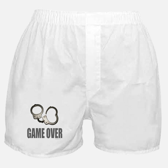HANDCUFFS/POLICE Boxer Shorts