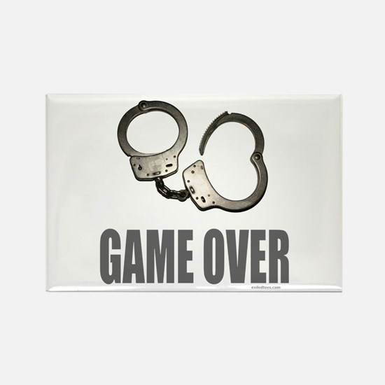HANDCUFFS/POLICE Rectangle Magnet