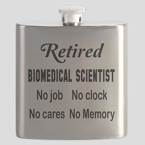 Retired Biomedical scientist Flask
