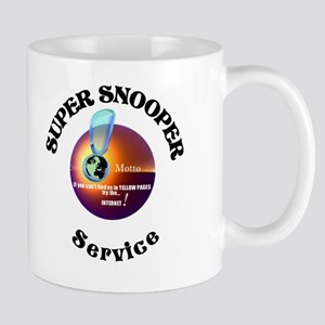 Super Snooper Agency. Mug