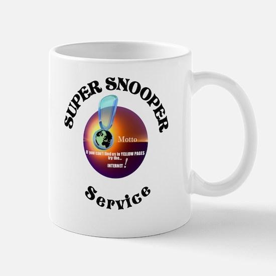 Super Snooper Agency. Mug