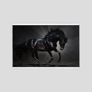Dark Horse 4' x 6' Rug