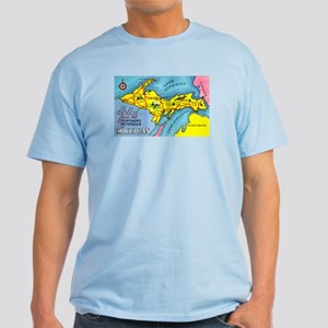 Michigan Northern Upper Peninsula Light T-Shirt