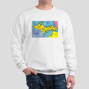 Michigan Northern Upper Peninsula Sweatshirt