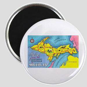 Michigan Northern Upper Peninsula Magnet