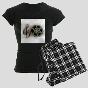 Clef and Film Reel by Leslie Harlow Pajamas