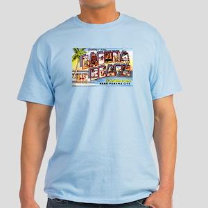 Laguna Beach Florida Greetings Light T-Shirt