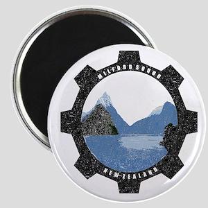 Milford Sound Vintage Magnet