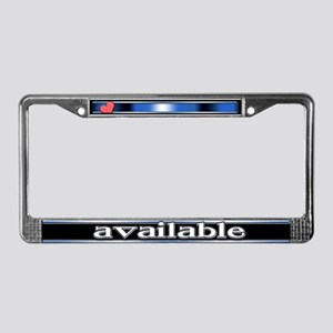 Available License Plate Frame