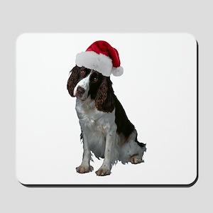 Springer Spaniel Santa Mousepad