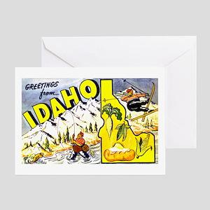 Idaho State Greetings Greeting Card