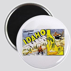 Idaho State Greetings Magnet