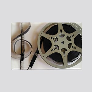 Clef and Film Reel by Leslie Harlow Magnets