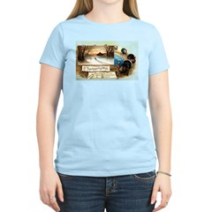 Contentment and Peace Women's Light T-Shirt