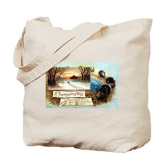 Contentment and Peace Tote Bag