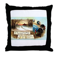 Contentment and Peace Throw Pillow