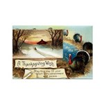 Contentment and Peace Rectangle Magnet (10 pack)