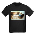 Contentment and Peace Kids Dark T-Shirt