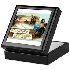Contentment and Peace Keepsake Box