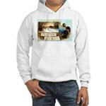 Contentment and Peace Hooded Sweatshirt