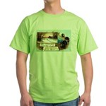 Contentment and Peace Green T-Shirt