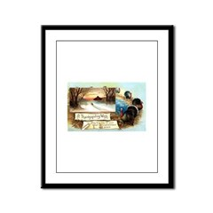 Contentment and Peace Framed Panel Print