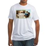 Contentment and Peace Fitted T-Shirt