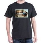 Contentment and Peace Dark T-Shirt
