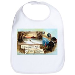 Contentment and Peace Bib