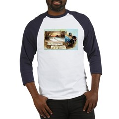 Contentment and Peace Baseball Jersey