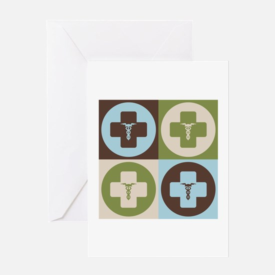 Anesthesiology Pop Art Greeting Card