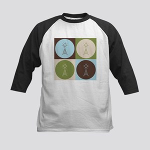 Amateur Radio Pop Art Kids Baseball Jersey