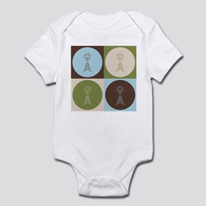 Amateur Radio Pop Art Infant Bodysuit
