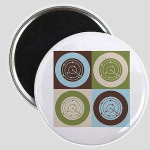 Air Traffic Control Pop Art Magnet