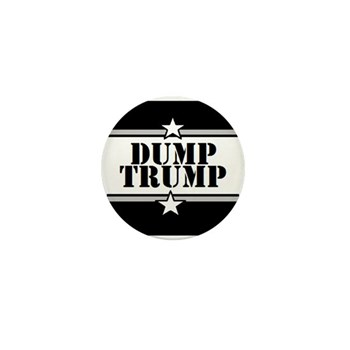 Dump Trump   Mini Button (10 Pack)
