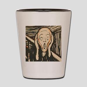 Edvard Munch ISAK skam Shot Glass