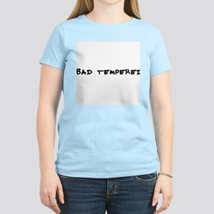 Bad tempered Women's Pink T-Shirt