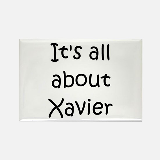 Cute Xavier Rectangle Magnet