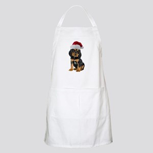 Gordon Setter Christmas BBQ Apron