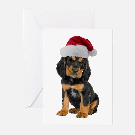 Gordon Setter Christmas Greeting Cards (Pk of 10)