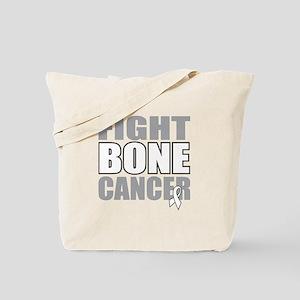 Fight Bone Cancer Tote Bag
