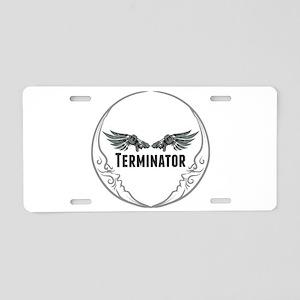 Terminator Aluminum License Plate